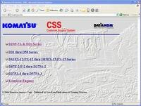 Komatsu CSS Услуги Гусеничные бульдозеры d 20 к d 575 магазин руководства