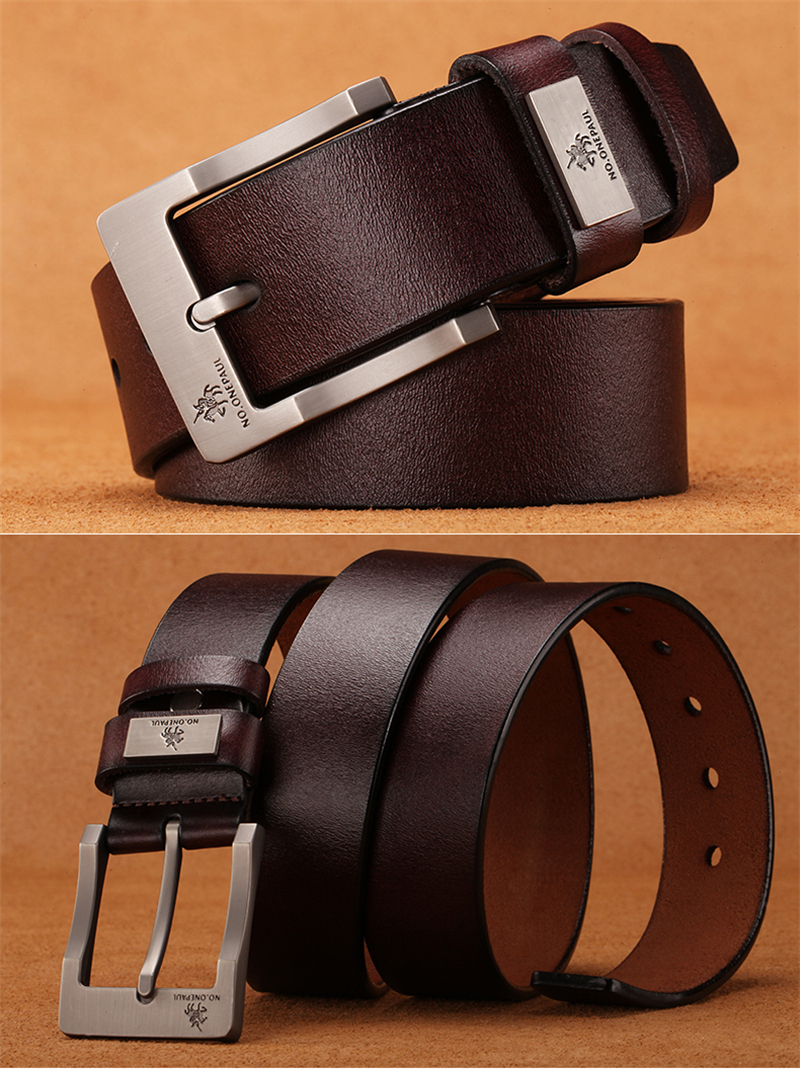 HTB1uzIyafLsK1Rjy0Fbq6xSEXXax - NO.ONEPAUL buckle men belt High Quality cow genuine leather luxury strap male belts for men new fashion classice vintage pin