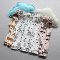 2017 Nuevos Muchachos de La Manera Pantalones Harem Tiger Animal Panda Para 0-4 años baby boy girls niño infantil pantalones ropa de bebé A241