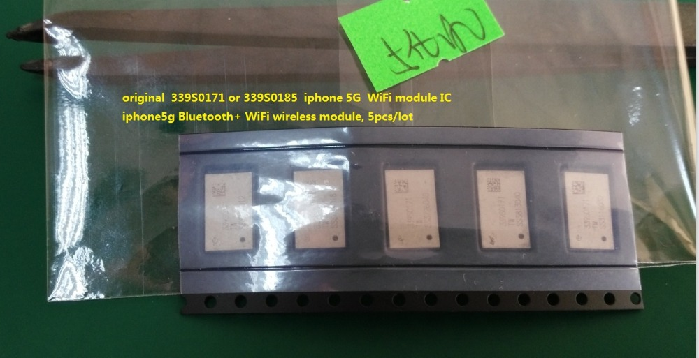 original  339S0171 or 339S0185  iphone 5G  WiFi module IC iphone5g Bluetooth+ WiFi wireless module, 5pcslot
