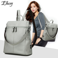 2019 NEW Fashion Backpack Retro And Vintage Backpack Students School Bag Female Women Backpack Leather Women Casual Style