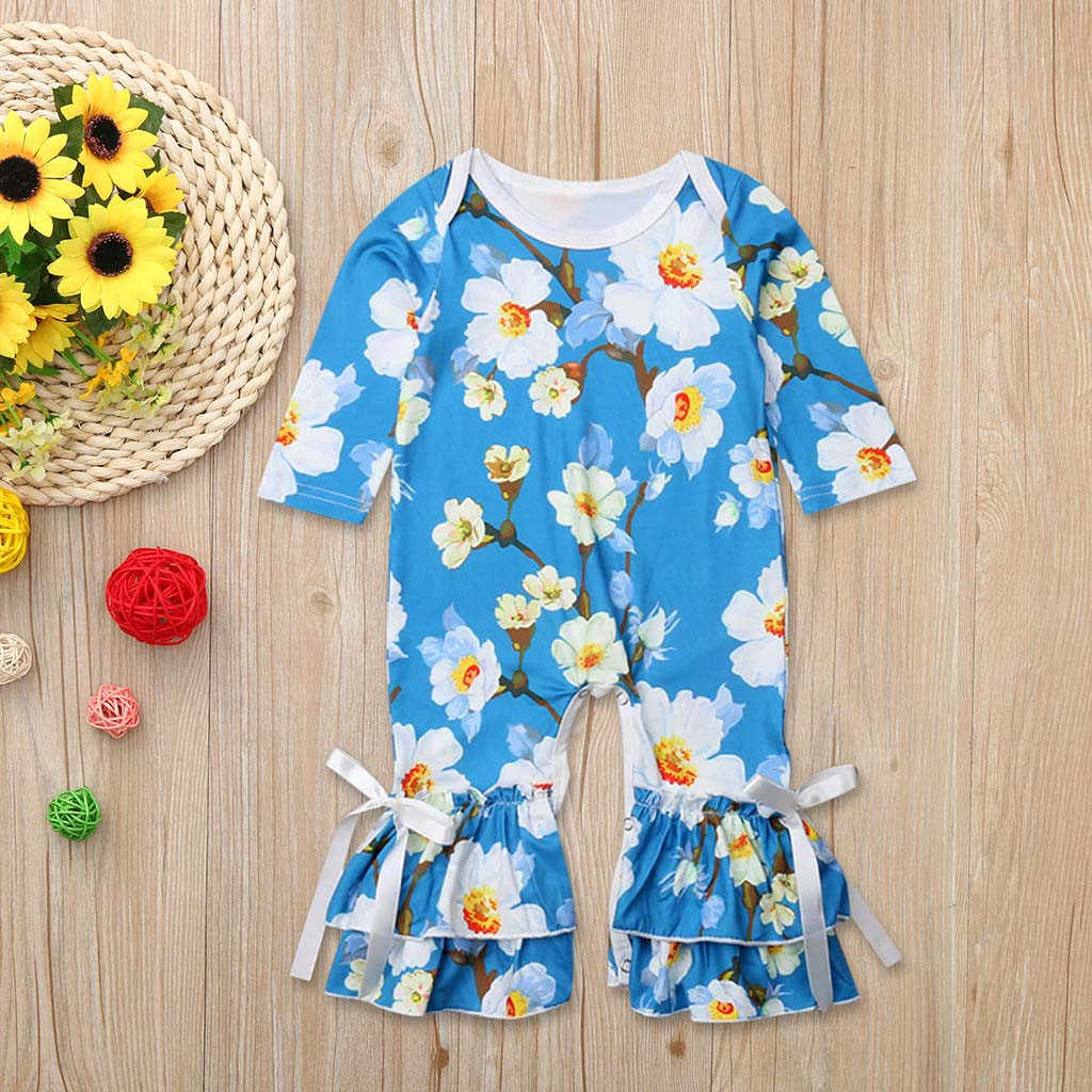 ccdf49ab9851 Detail Feedback Questions about Infant Baby Girls Long Sleeve Floral ...