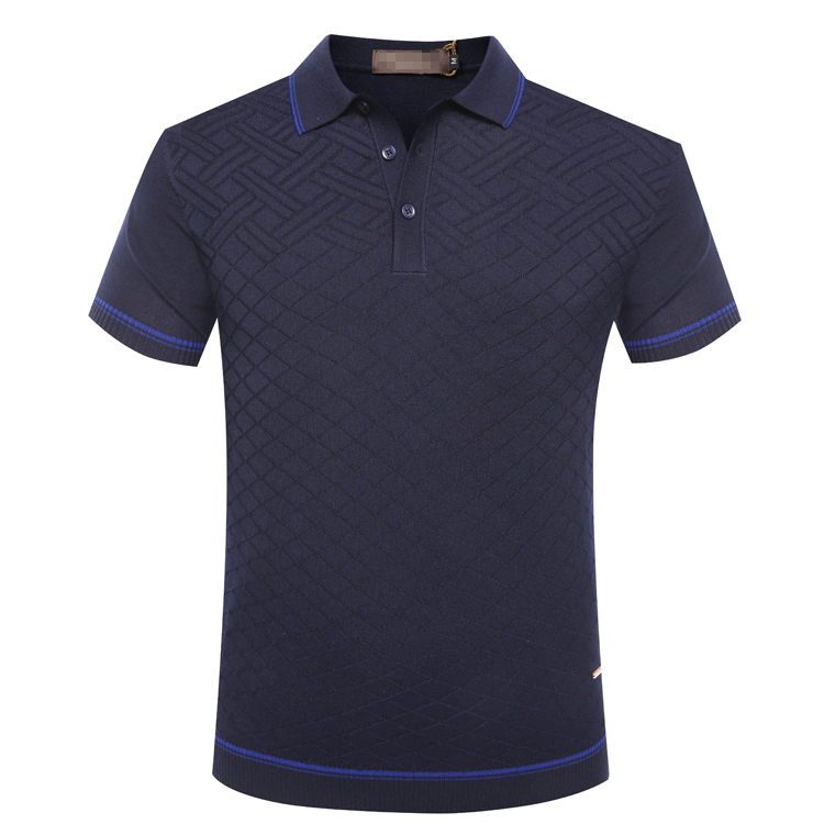 BILLIONAIRE TACE&SHARK T shirt men Short 2018 summer new fashion comfort solid color high quality geometry pattern