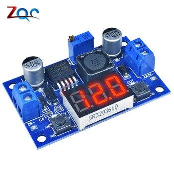 DC-DC Buck Step Down Module LM2596 DCDC 4.0~40V to 1.25-37V Adjustable Voltage Regulator With LED Voltmeter