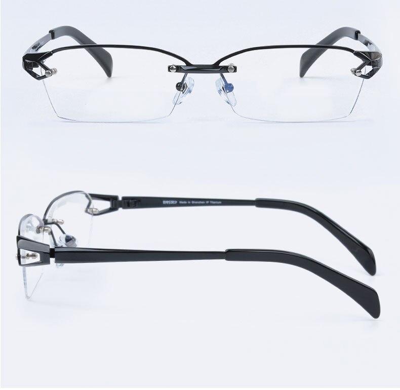 Reven jate f1143 óculos ópticos armação de