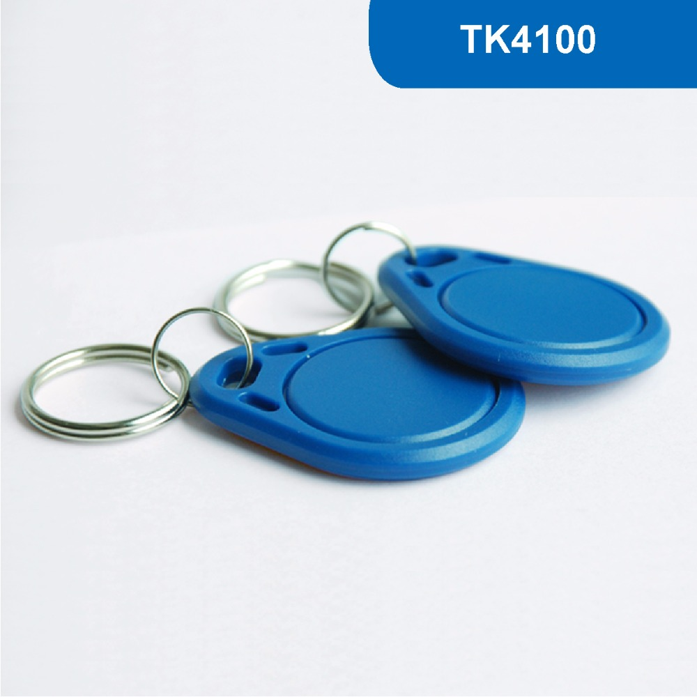 KT03 RFID Key Tag, RFID Key Fob for access control, ID Smart Tag, Contactless proximity Token 125KHZ R/O With TK4100 Chip waterproof contactless proximity tk4100 chip 125khz abs passive rfid waste bin worm tag for waste management