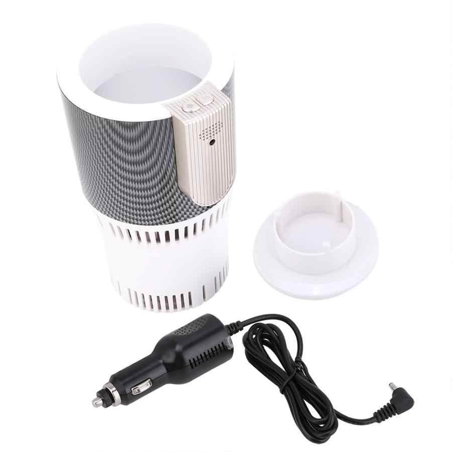 Coche inteligente taza caliente y fría Calefacción de congelación portatil soporte de bebida