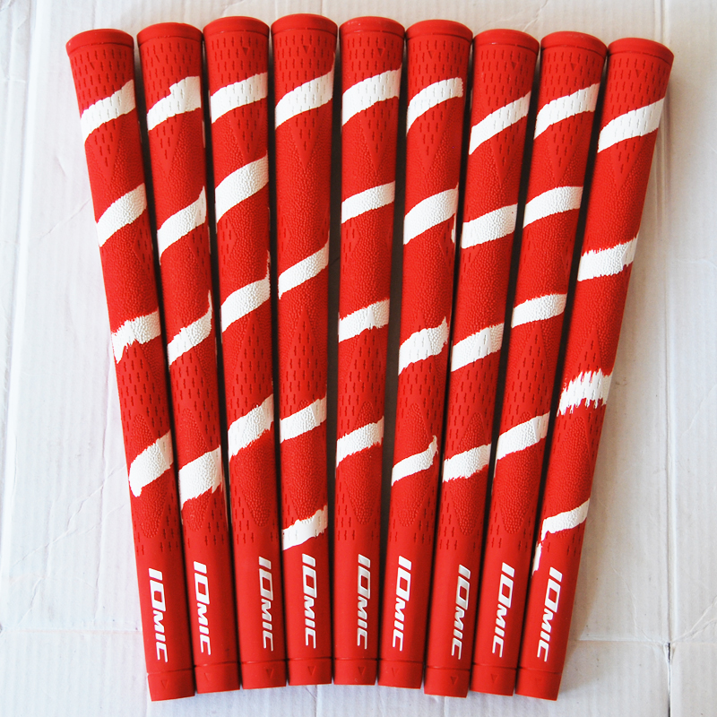 Hot New IOMIC Golf Grips High Quality Rubber Golf Clubs Grips 2 Colors 10pcs/lot Golf Driver Grips Free Shipping