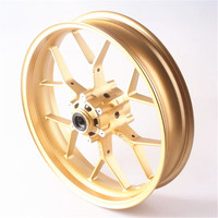Front Wheel Rim Fit Honda CBR1000RR 2012 2013 2014 Aluminum Alloy Moto Accessories One Pcs Gold