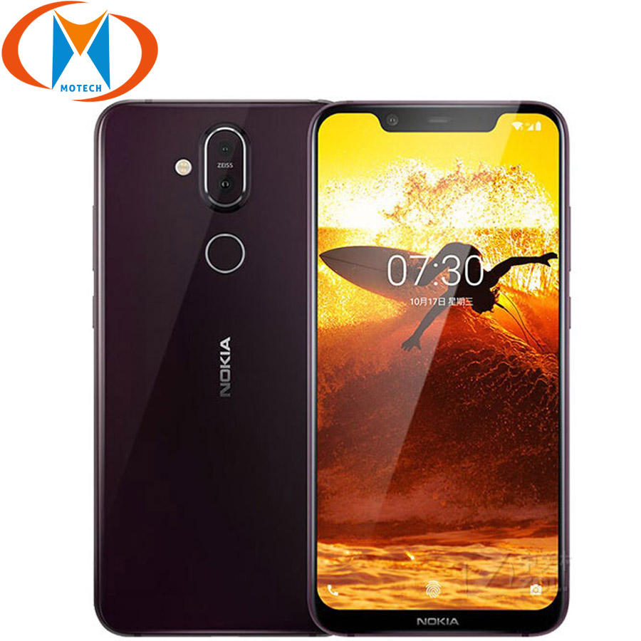 "Global Version Nokia 8.1 Mobile Phone TA-1119 6.18"" Snapdragon 710 Octa Core 4GB 64GB 20MP Camera Android NFC 4G LTE Smartphone"