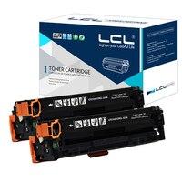 LCL Canon CRG731 CRG 731 CRG 731 2 Pack Laser Toner Cartridges Compatible For 7100 MF8210