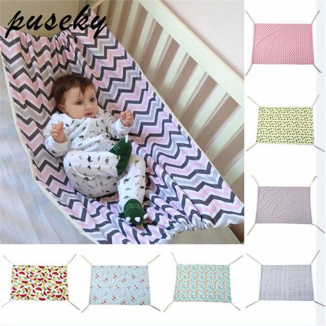 Baby Schommel Tuin.Puseky Pasgeboren Baby Veiligheid Hangmat Kribben Draagbare Outdoor