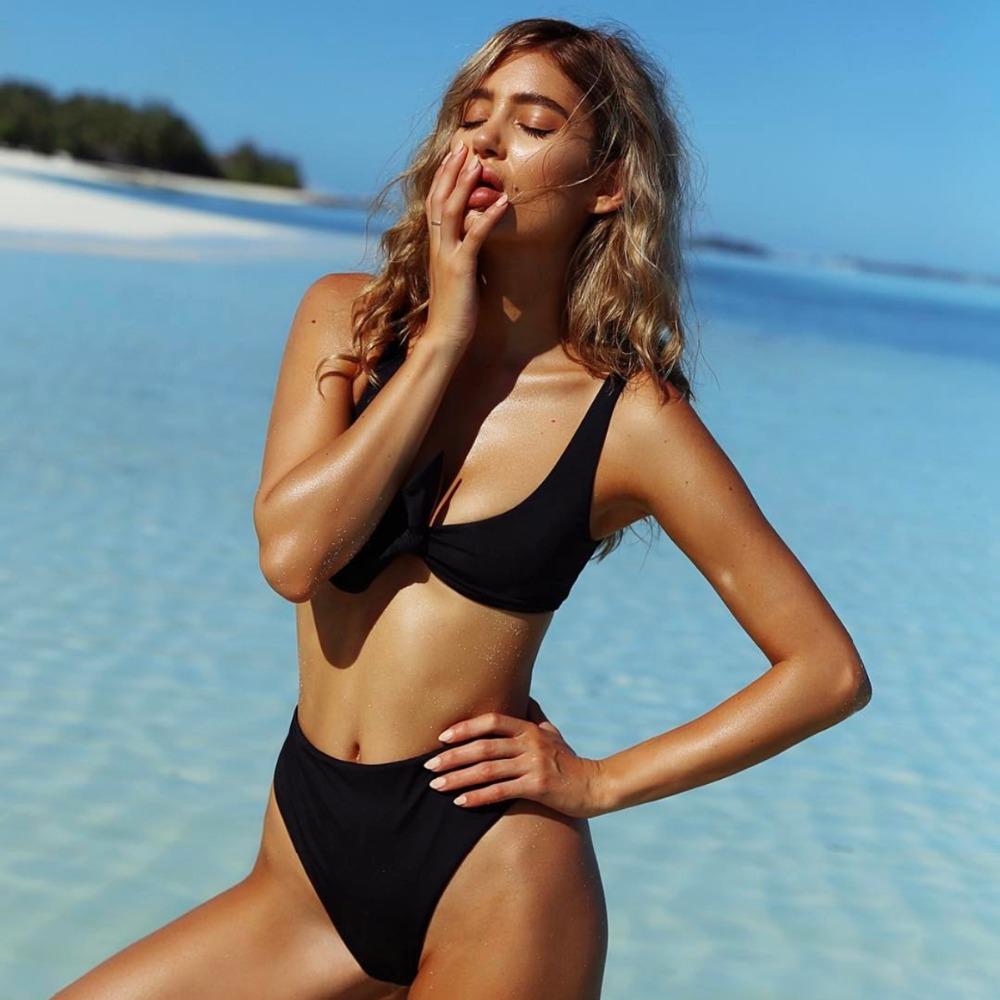 HTB1uzLlRVXXXXXGXpXXq6xXFXXXA - Summer sexy Beach Bikini Double wrapped chest Women Beach swimsuit Underwear Bra sets JKP388