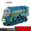 Thomas y Amigos de Una Pieza Diecast Metal Tren CONNOR Megnetic Tren Motor Del Tanque de Juguete Juguete Para Niños Kids Navidad regalos
