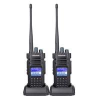 2Pcs Dual Band DMR Ham Radio Retevis Ailunce HD1 GPS Digital Walkie Talkie 10W 5W VHF