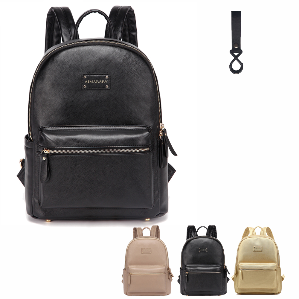 Leather Backpack baby diaper bag nappy bags Maternity mommy Changing Bag wet infant for babies care organizer 109 Сумка