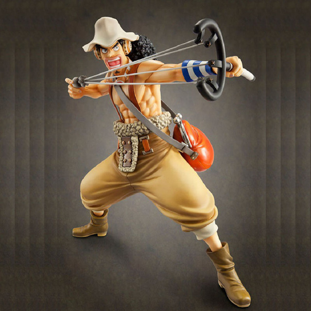 One Piece Luffy The Straw Hat Pirates Sniper Anime Figures