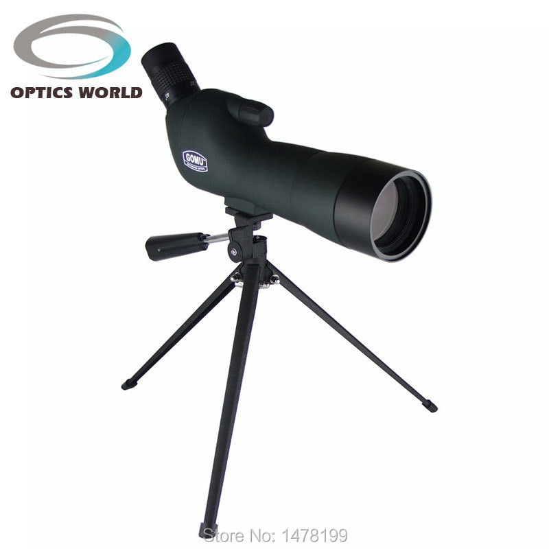 GOMU 20-60X60 AE monocular zoom telescope binoculars Spotting Scopes night vision monoculars HD Bird Watching brand gomu 20 60x60 hd zoom high quality precision spotting scope telescope tripod connection mobile phone adapter bird watchin