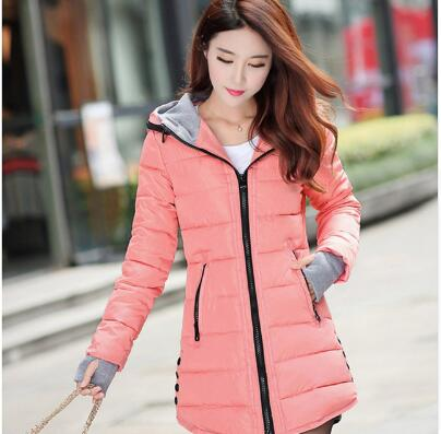 2018 New Windproof Waterproof Winter Jacket Women Coat Female Padded Coat Long Section Women Coat Windbreaker   Parka