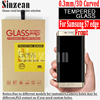 Sinzean 50pcs 3D Curved full screen tempered glass For samsung galaxy S7 edge 3D Curved full tempered glass screen protector