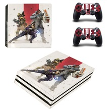 Game APEX Legends PS4 Pro Skin Sticker Decal Vinyl for Playstation 4 Console and 2 Controllers PS4 Pro Skin Sticker
