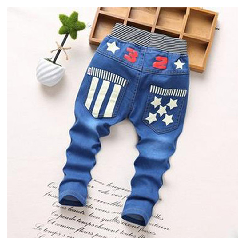Spring and Autumn Fashion font b jeans b font children clothes 2 5 year old boys