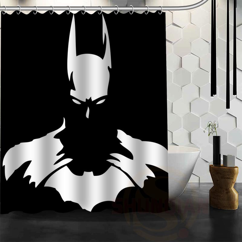 Aliexpress.com : Buy Best Nice Custom Batman Shower Curtain Bath ...