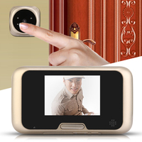 3 2 Inch LCD Peephole Viewer Door Eye Doorbell Color IR Camera 4 IR LED With