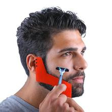 Beard Shaping Tool Fashion Men Perfect Lines Symmetry Beard Shaping Styling Template Stencil Tool