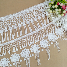 Hot Many Styles Of Fringed Water Soluble Embroidery Lace Accessories Handmade DIY Clothing Skirts Curtains Home Textile Material