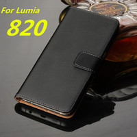 High Quality Retro Leather Phone Case Wallet Flip Cover Card Holder Cover Case For Nokia Lumia
