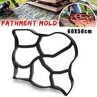 60 50cm Driveway Paving Pavement Mold Concrete Stepping Stone Path Walk Maker