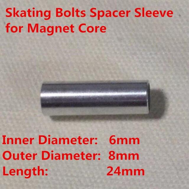 6 мм внутренний диаметр 8 мм внешний диаметр колеса скейтборда болт муфтовый разделитель 608 688 подшипник магнитный сердечник светодио дный флэш-колесо для роликовых коньков Родас