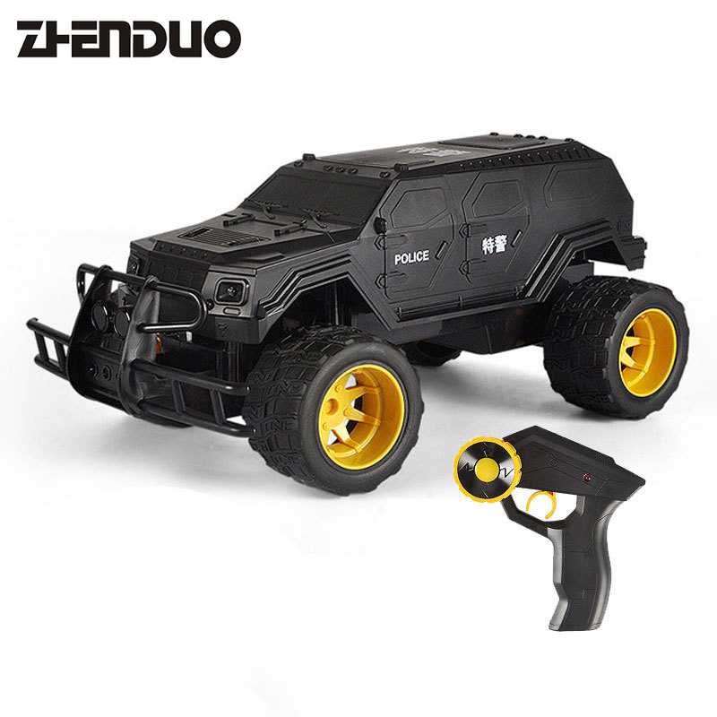 Zhen duo toy 1:12 simulation ratio special explosion-proof car E320-001 childrens electric remote control car Free shipping