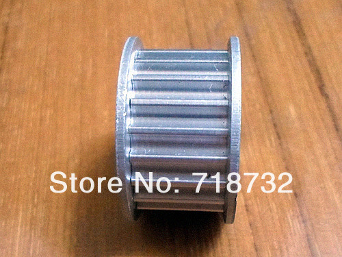 16 teeth and 20 teeth HTD5M timing pulley and open timing belt with 25mm belt width