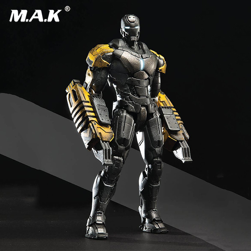 1/12 Scale Alloy Iron Man Raider MK25 Action Figure Collection/1:12 Scale Metal Diecast Iron man MK26 Gamma figure Doll Model cute skull man figure doll cell phone straps grey 12 pack