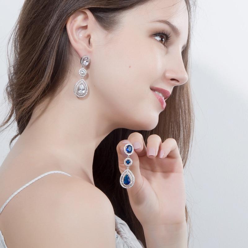 CWWZircons Super Luxury կանանց զգեստների զարդեր - Նորաձև զարդեր - Լուսանկար 6