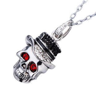 Skull Waterproof Crystal Jewelry Cle USB Flash Drive