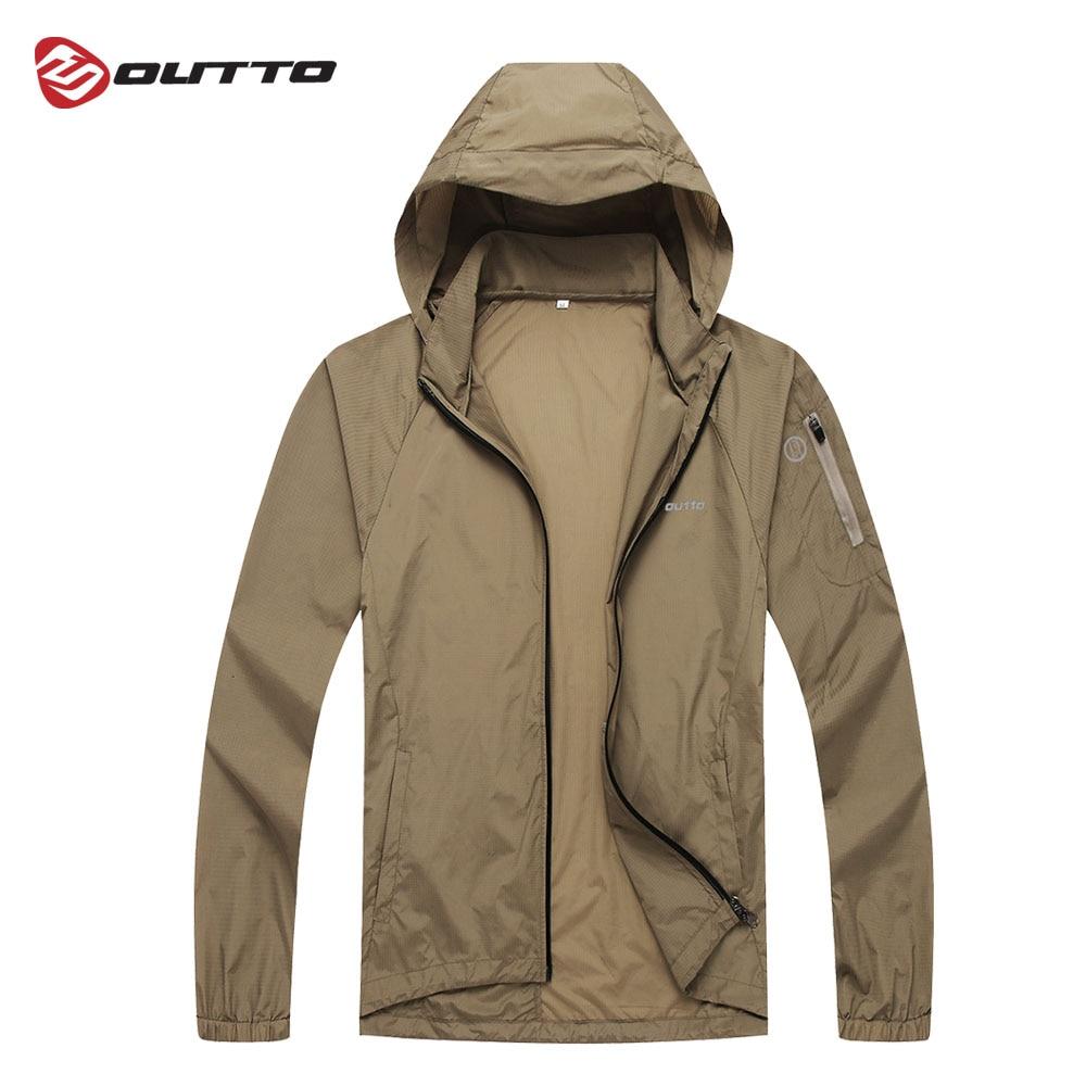 Мужская велосипедная куртка от Outto, легкий плащ, футболка для велоспорта, облегающее пальто для занятий спортом на открытом воздухе, защита от ветра, велосипедная ветровка