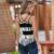 2017 Novas mulheres Sexy Tanque Camis cropped tops Casual feminino feminino Mulheres Verão topos de culturas Cinta Senhora Sem Encosto camisola