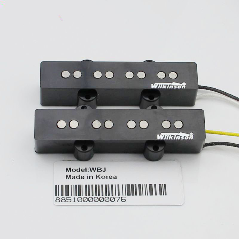 Han Wilkinson 4 string bass pickups open single coil pickups -WBJ yibuy 1 set of 4 string sealed pickups for jb bass guitar