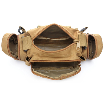 Outdoor Military Tactical Waist Bag Waterproof Nylon Camping Hiking Backpack Pouch Hand Bag military bolsa Style mochila 4