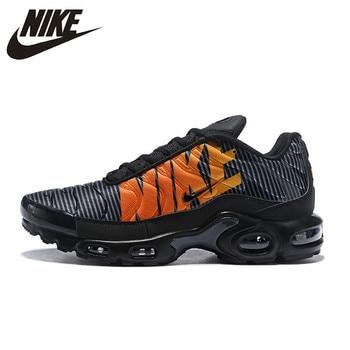 official photos 60f59 91327 Nike Air Max Plus TN SE Нет скольжения Для мужчин кроссовки, zapatillas  hombre амортизации подошва комфорт беговые кроссовки