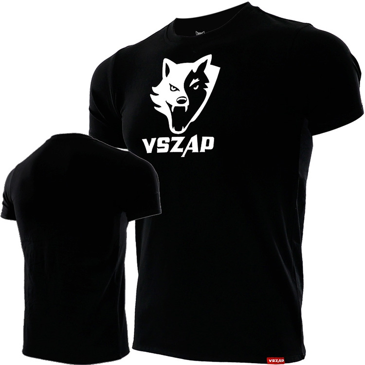 VSZAP Fitness Breathable Wolf Jerseys Muay Thai MMA Boxing Team T Shirts Running Gym Tees Fighting