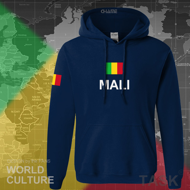 Republic of Mali hoodie men sweatshirt sweat new hip hop streetwear tracksuit nation footballer sporting country MLI Malian 1