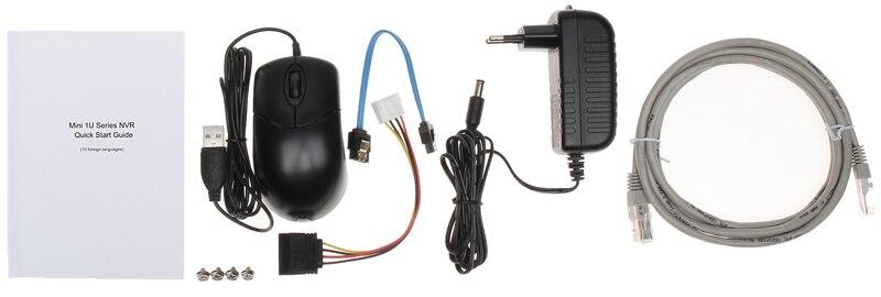 H.265 4 K Mutil языковая версия мини NVR 4/8CH 1U сети видео Регистраторы NVR4104hs 4KS2 NVR4108hs 4KS2 NVR4116hs 4KS2 мини NVR - 5