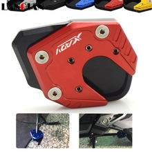 2018 New Arrival Motorcycle CNC Aluminum Kickstand Plate Extension Pad Side Stand Enlarger For Honda X-ADV XADV 750 2017