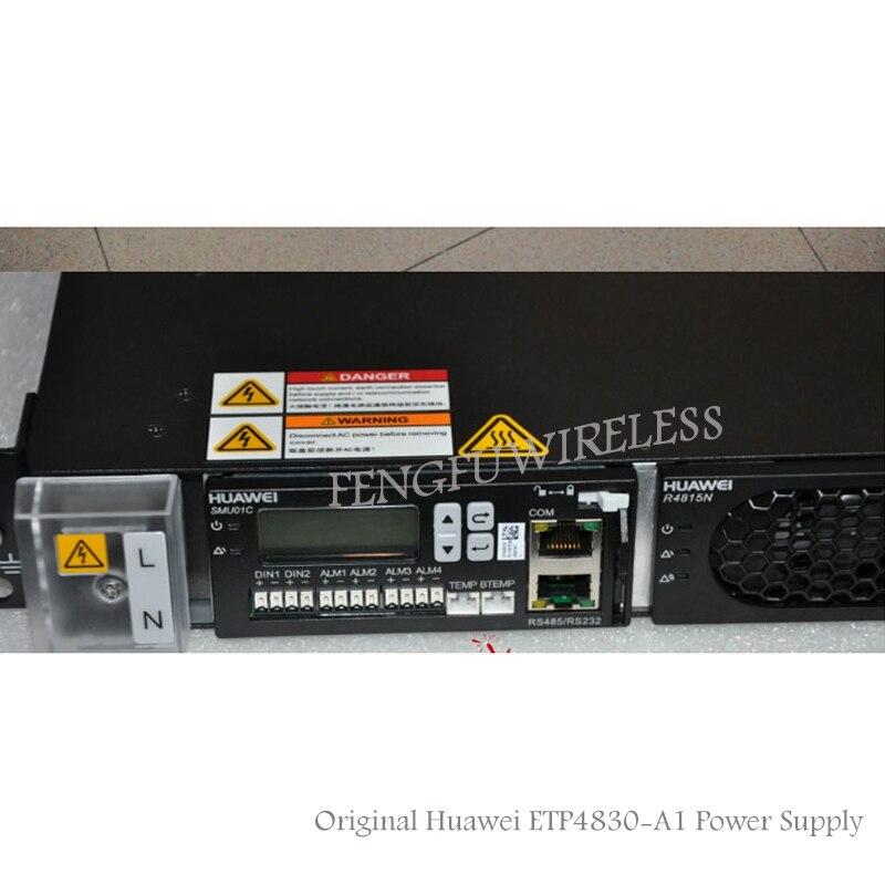 Hottest Originale HW OLT ETP4830 30A-48 V di alimentazione con SMU01C per Fibra Ottica MA5683T OLT ZTE C300/MA5680T ETP4830-A1