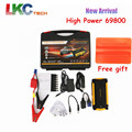 2016 Newest Car Jump Starter 16000mah 4USB 2.0A Output Multi-function Portable Power Bank 12V Car Battery Booster