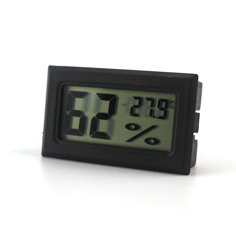 Digital LCD Thermometer Hygrometer Kelembaban Meter Suhu Rumah Tangga Dalam  Ruangan-50 ~ 70 Celcius 202e1aed67